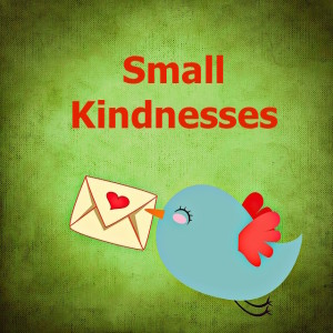 Little bird delivering love letter small kindnesses blog image