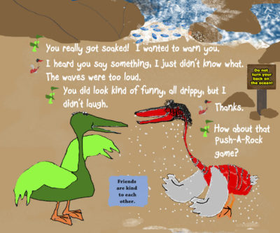 Pelican Family Books Pelly and Melly Best Friends Page 13